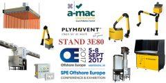 Offshore Europe, Aberdeen 5-8 September 2017